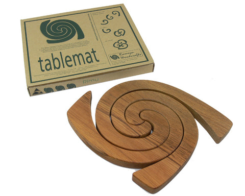 Romeyn Woodcrafts - 3 in 1 Rimu Tablemat Plain