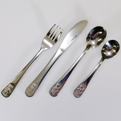 Whitehill - Children's Teddy Cutlery Set
