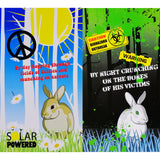 'Cruncher the Zombie Rabbit' - Solar powered Garden Light