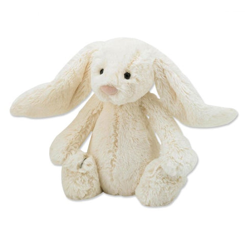 Bashful Bunny Soft Toy - Cream