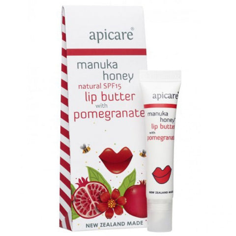 Apicare - Pomegranate Lip Butter - SPF15