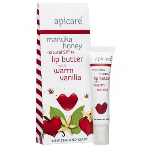 Apicare - Warm Vanilla Lip Butter - SPF15