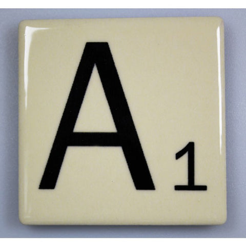 "Magnetic Scrabble Letter - ""A"""