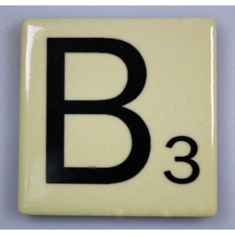"Magnetic Scrabble Letter - ""B"""