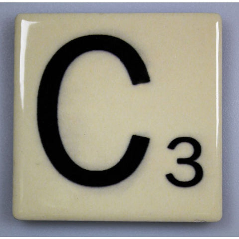 "Magnetic Scrabble Letter - ""C"""