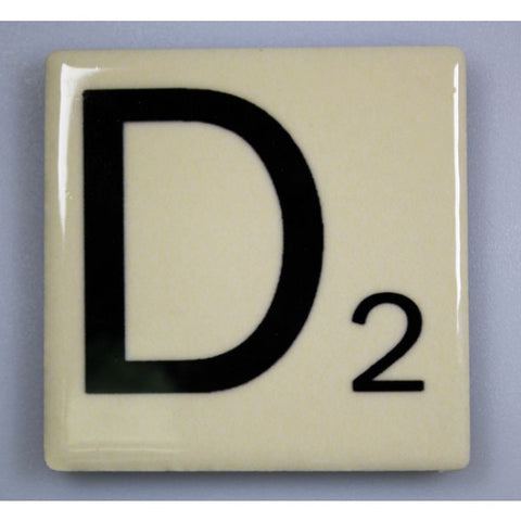 "Magnetic Scrabble Letter - ""D"""
