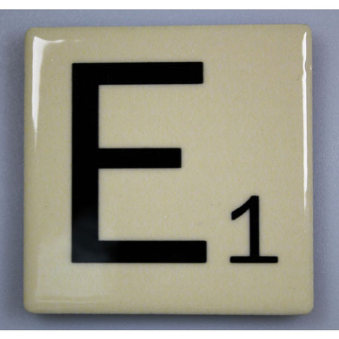 "Magnetic Scrabble Letter - ""E"""