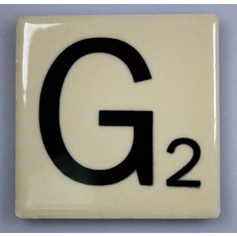 "Magnetic Scrabble Letter - ""G"""