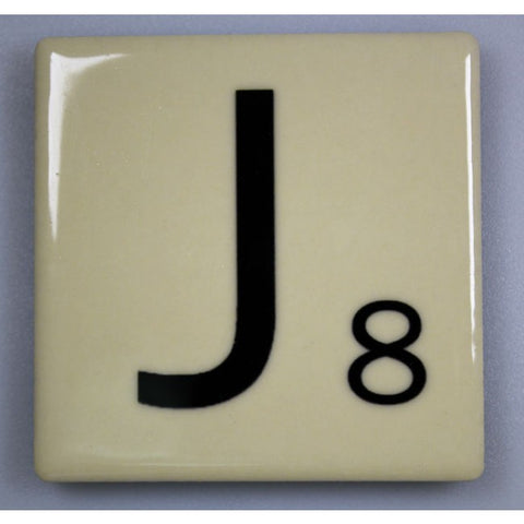 "Magnetic Scrabble Letter - ""J"""