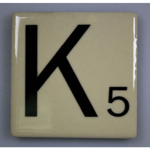 "Magnetic Scrabble Letter - ""K"""