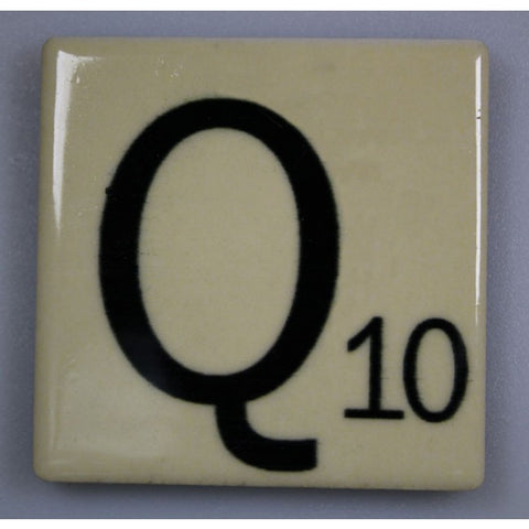 "Magnetic Scrabble Letter - ""Q"""