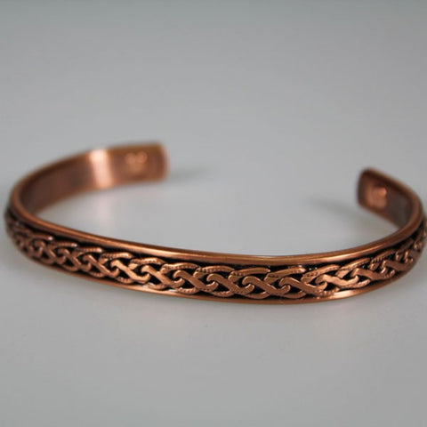 Kia Ora Chain Pattern Copper Bracelet
