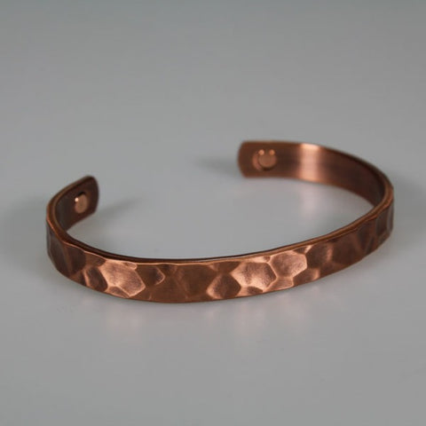 Kia Ora Beaten Copper Bracelet