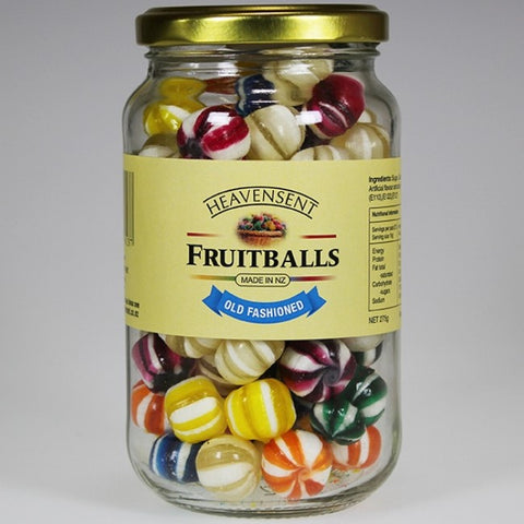 Fruitballs Candy - 275g Jar