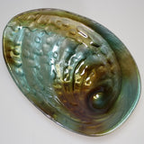 Glass Paua-look Bowl - 20cm
