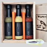 Wild Appetite - Let's Go Fishing Gift Box - 3x150ml