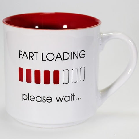 Boxed Mug - 'Fart Loading...'
