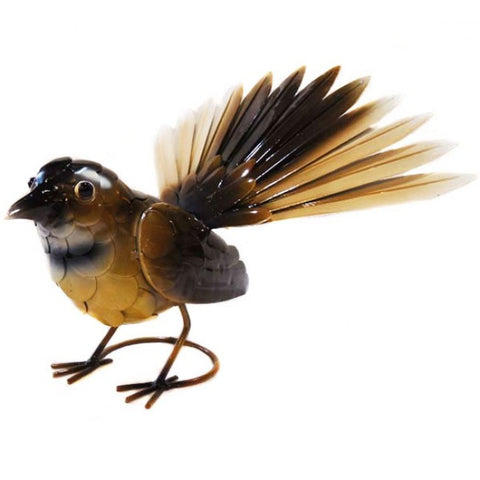 Brown Fantail Sculpture