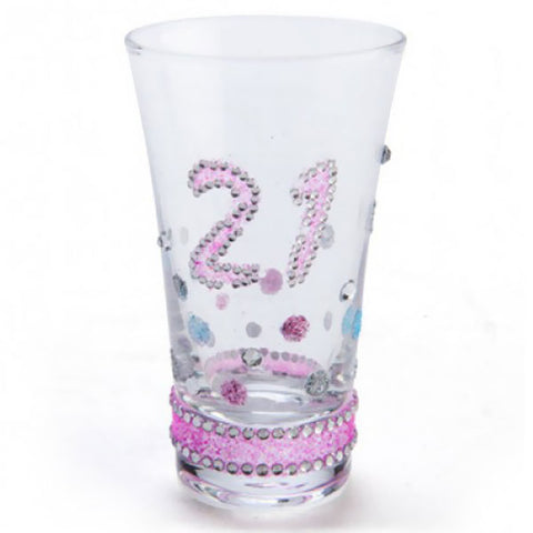 Sparkle Shot Glass - 21st