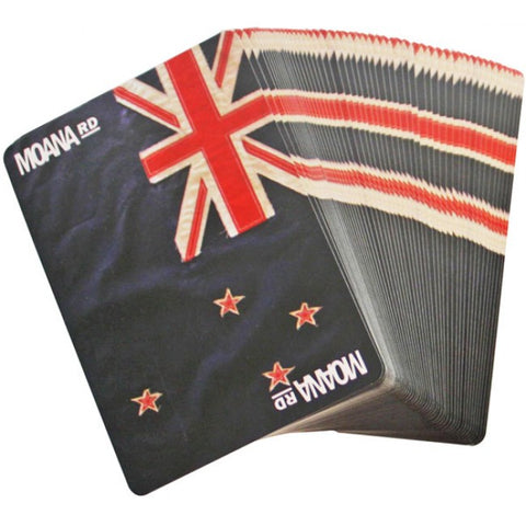 New Zealand Places Playing Cards