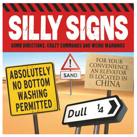 Seriously Silly Signs - Book