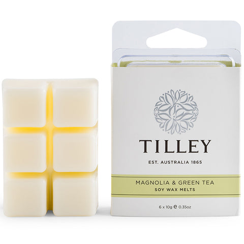 Tilley - Soy Fragrance Melts - Magnolia and Green Tea