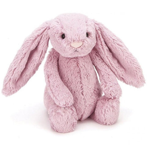 Bashful Bunny Soft Toy - Tulip Pink