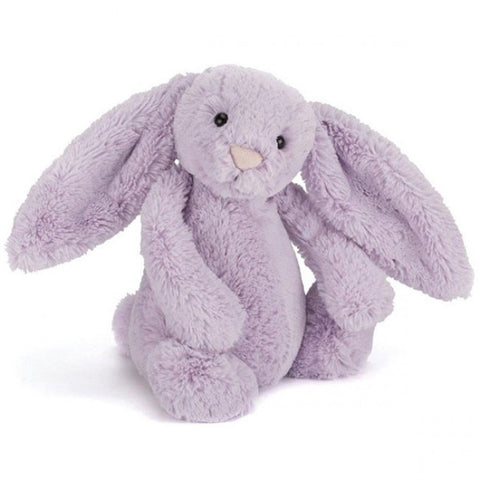 Bashful Bunny Soft Toy - Hyacinth Purple Colour - Jellycat
