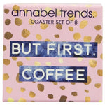 Boxed Set of Coasters - Tea and Coffee