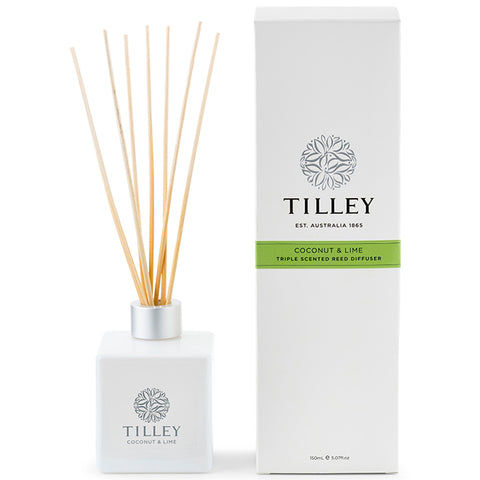 Tilley Reed Diffuser - Coconut and Lime - 150ml