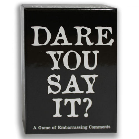 Dare You Say It? Dinner Game