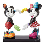 Britto - Disney - Minnie and Mickey Mouse Making a Heart Figurine