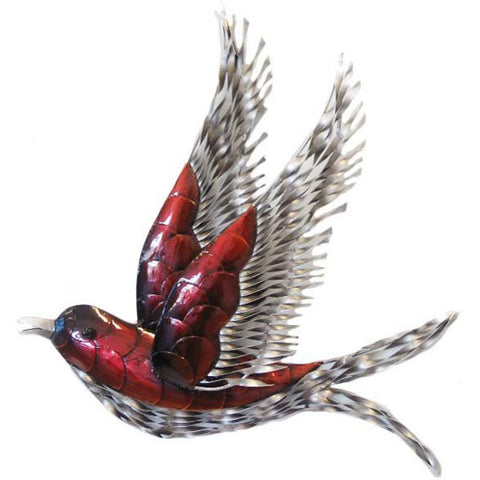Red Swallow Wall Art