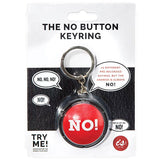 The No! Button - Keyring