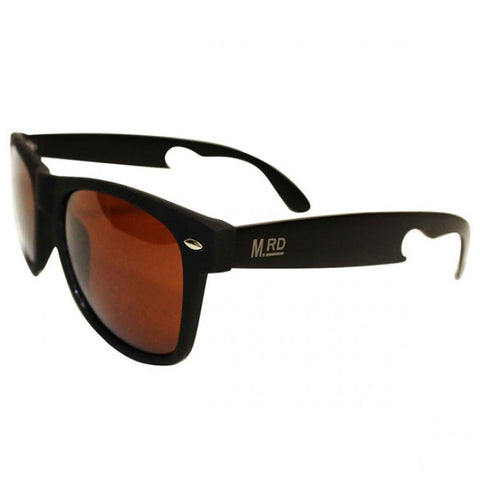 Bottle Opener Sunglasses - Brown Lens