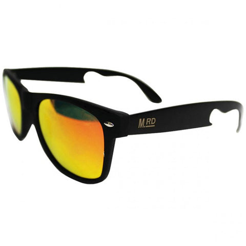 Bottle Opener Sunglasses - Yellow Lens