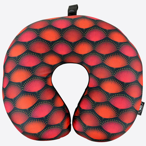 Pohutukawa Blaze Travel Neck Pillow