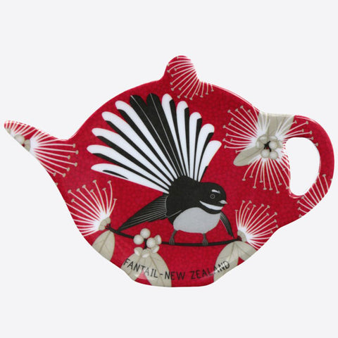Tea Bag Holder - Flirty Fantail