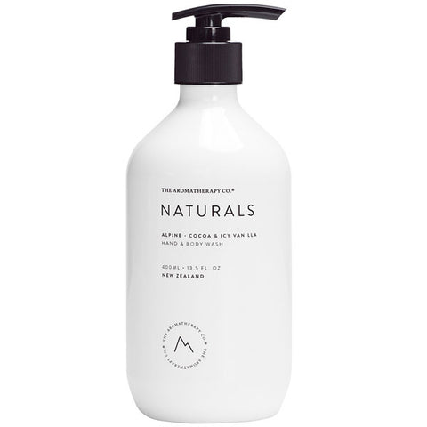 The Aromatherapy Company - Naturals - Alpine Hand and Body Wash - Cocoa and Icy Vanilla