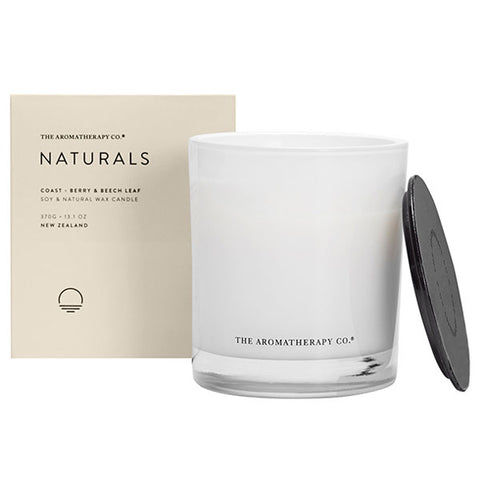 The Aromatherapy Company - Naturals - Coast Candle - Berry and Beech Leaf