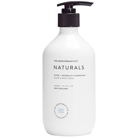 The Aromatherapy Company - Naturals - River Hand and Body Wash - Waterlily and Geranium