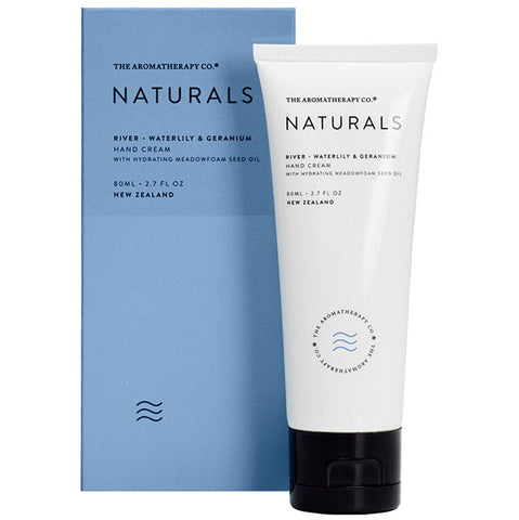 The Aromatherapy Company - Naturals - River Hand Cream - Waterlily and Geranium