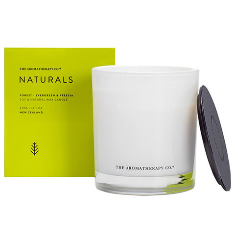 The Aromatherapy Company - Naturals - Forest Candle - Evergreen and Freesia