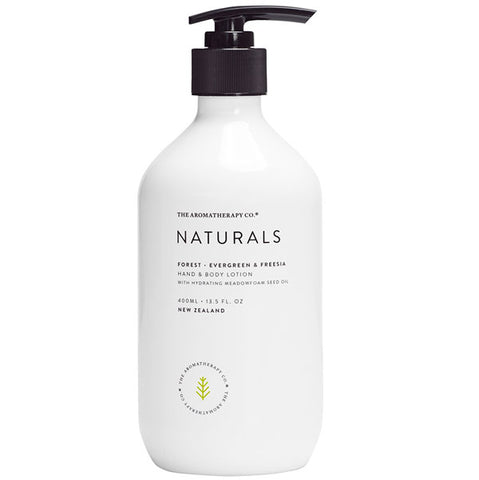 The Aromatherapy Company - Naturals - Forest Hand and Body Lotion - Evergreen and Freesia