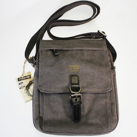 Troop - Across Body Shoulder Bag - Charcoal