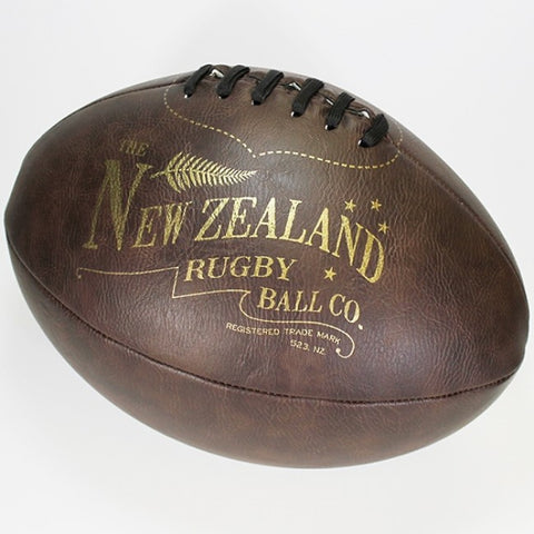 Moana Road - Vintage-look Rugby Ball - Large