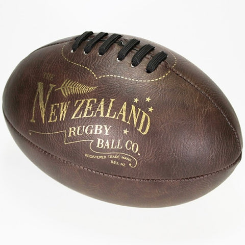 Moana Road - Vintage-look Rugby Ball - Small