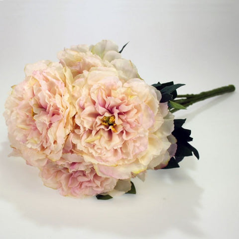 Artificial Flowers - Peony Bunch - Pink Flowers