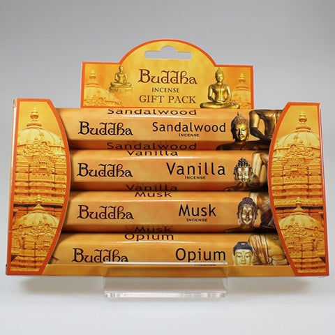 Buddha Incense Pack - Set of 4 Aromas