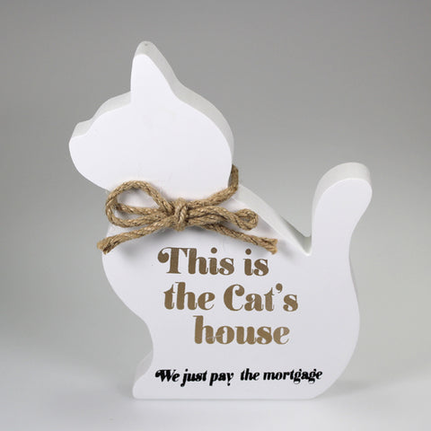 This is the Cats House - Cat Decor